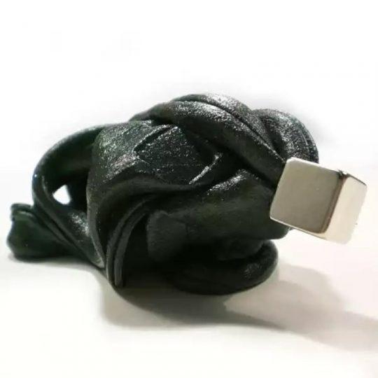 Plastilina Inteligente Magnética -Negro-