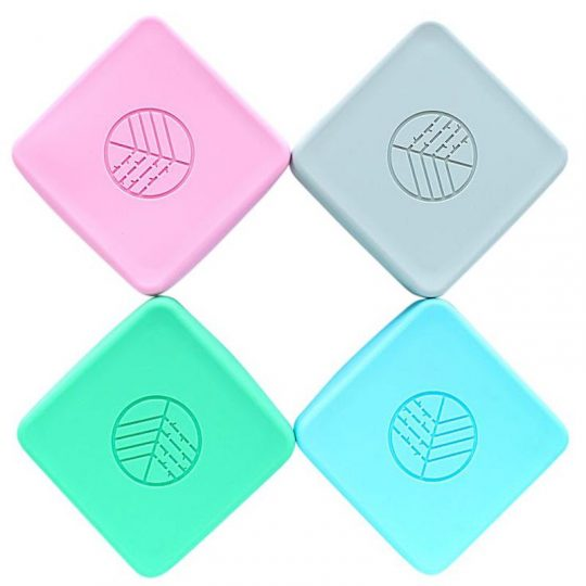 Portasnacks Bamboo EcoRascals (pack de 2) - Varios colores -