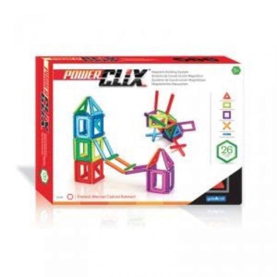 Set construcción Power Clix 26 piezas