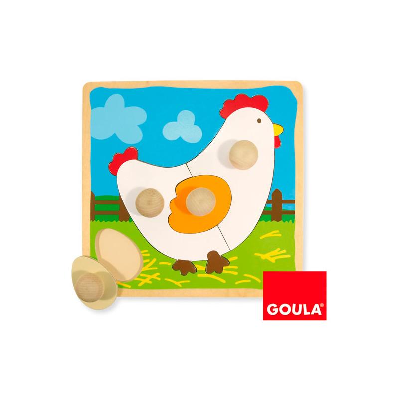 Puzzle Gallina