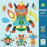 Puzzle gigante Barbazul, de Djeco