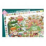 Puzzle de observación Crazy Park, Djeco