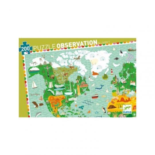 Puzzle Observación La vuelta al Mundo