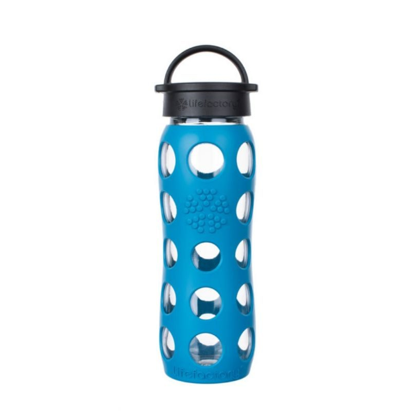 Botella lifefactory 650 ml new classic Tahoe blue - Monetes