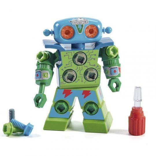Robot tuercas y tornillos