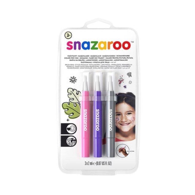 Rotuladores de maquillaje facial y corporal fantasía, Snazaroo