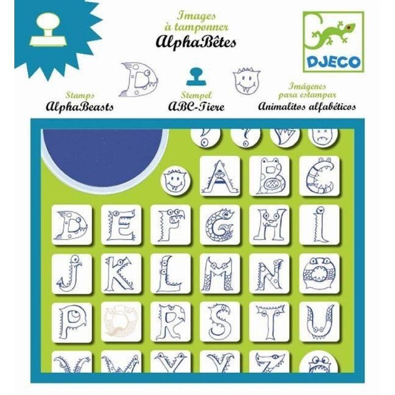 Sellos alfabeto djeco