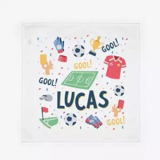 Servilleta personalizada - Fútbol -
