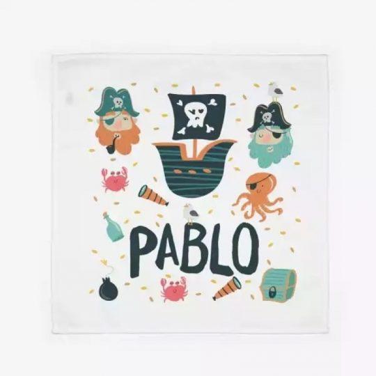 Servilleta personalizada - Piratas -