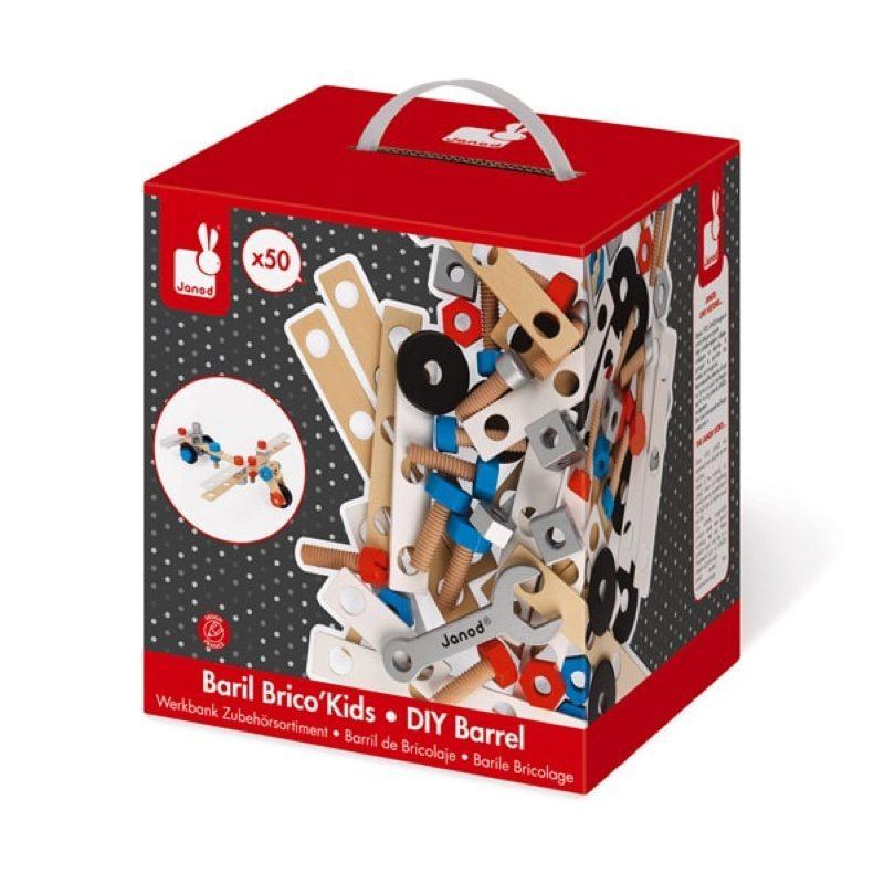 Set 50 accesorios brico'kids