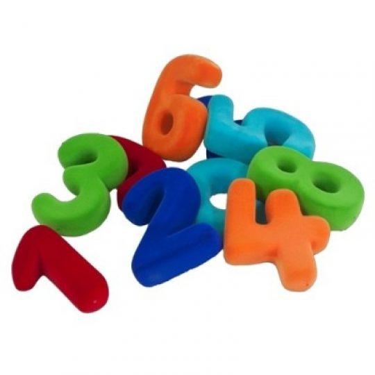 Set de números magnéticos grande