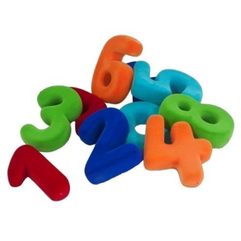 Set de números magnéticos Rubbabu