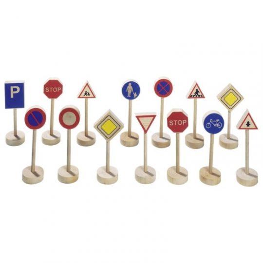 Set 15 señales de tráfico