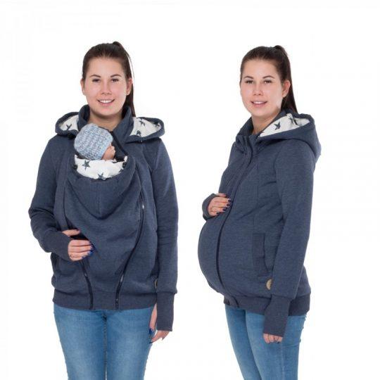 Sudadera embarazo/porteo - Pola Jeans -