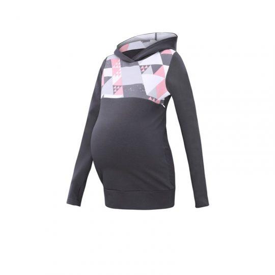 Camiseta embarazo/lactancia Lena - Graphite -