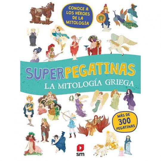 Súper pegatinas: Mitología Griega