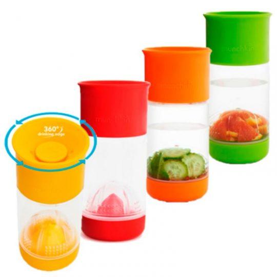 Taza infusora de frutas Miracle® 360 400ml