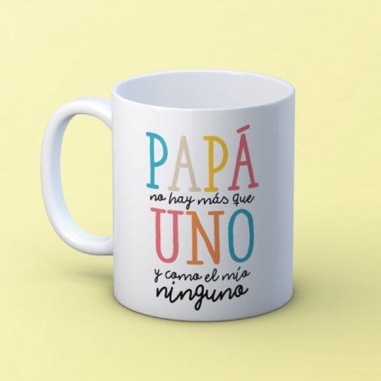 Taza 'Papá no hay más que uno' (personalizada)