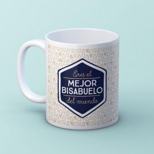 Taza 'Mejor Bisabuelo' (personalizada)