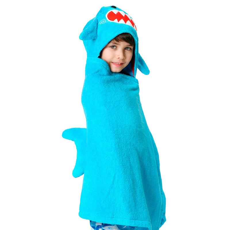 Toalla-Disfraz Niño/a - Shermann El Tiburón -
