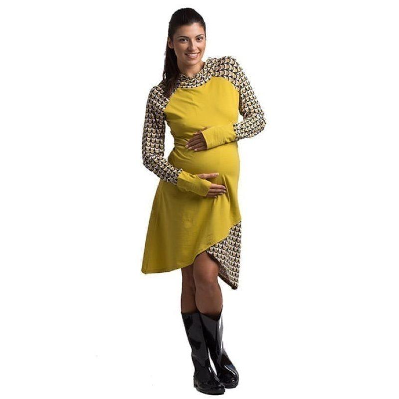 Vestido de embarazo y lactancia modelo Munia, de Árbol de Amor