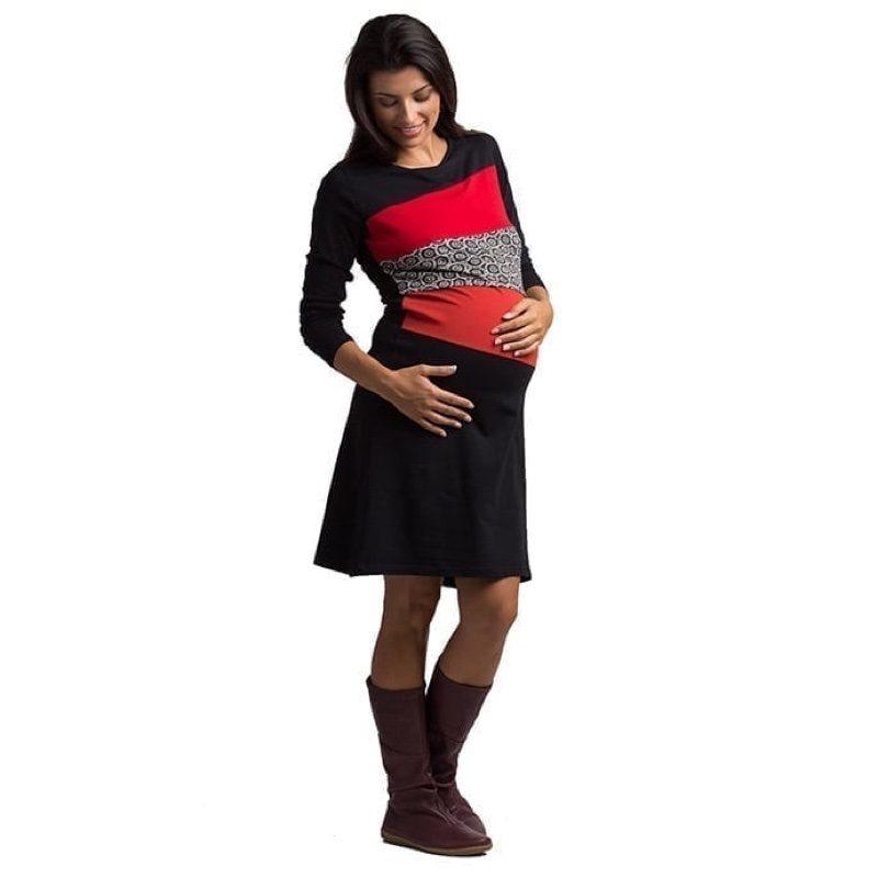 Vestido de embarazo y lactancia modelo Nur, de Árbol de Amor