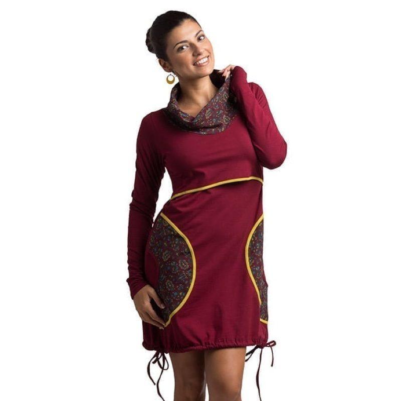 Vestido de embarazo y lactancia modelo Irina, de Árbol de Amor