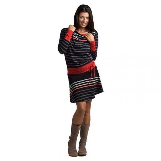 Vestido manga larga Lactancia -Claudia-