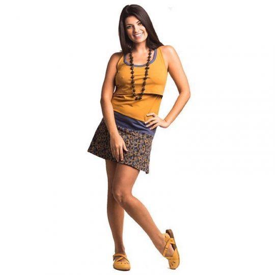 Vestido Lactancia - Malika -