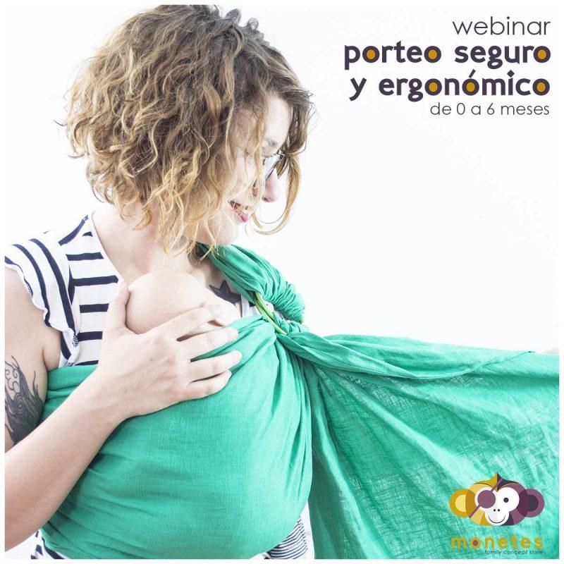 Webinar - Porteo Seguro y Ergonómico (0 a 6 meses) -
