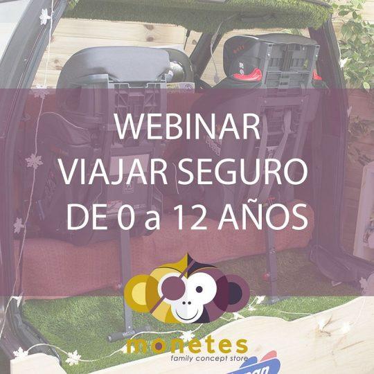 Webinar - Viajar Seguro en el coche de 0 a 12 años - A contra Marcha y Grupo 2/3