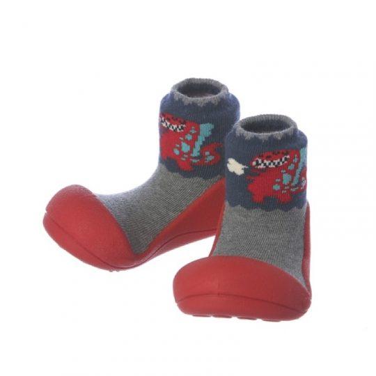 Zapatos Attipas Dinosaurio - Rojo -