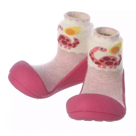 Zapatos Attipas Dinosaurio - Fucsia -