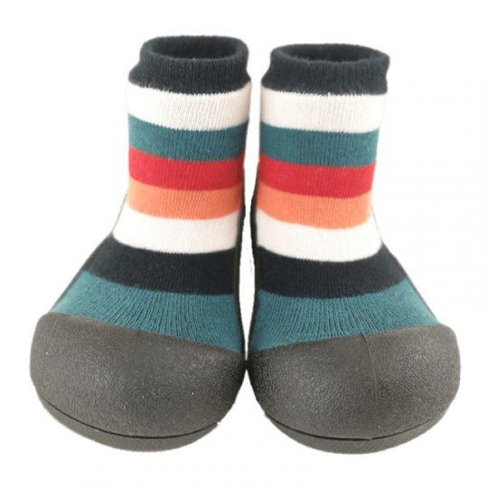 Zapatos Attipas Rainbow - Negro -