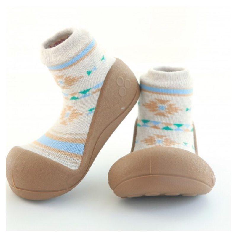 Zapatos Attipas Nordic Marrón