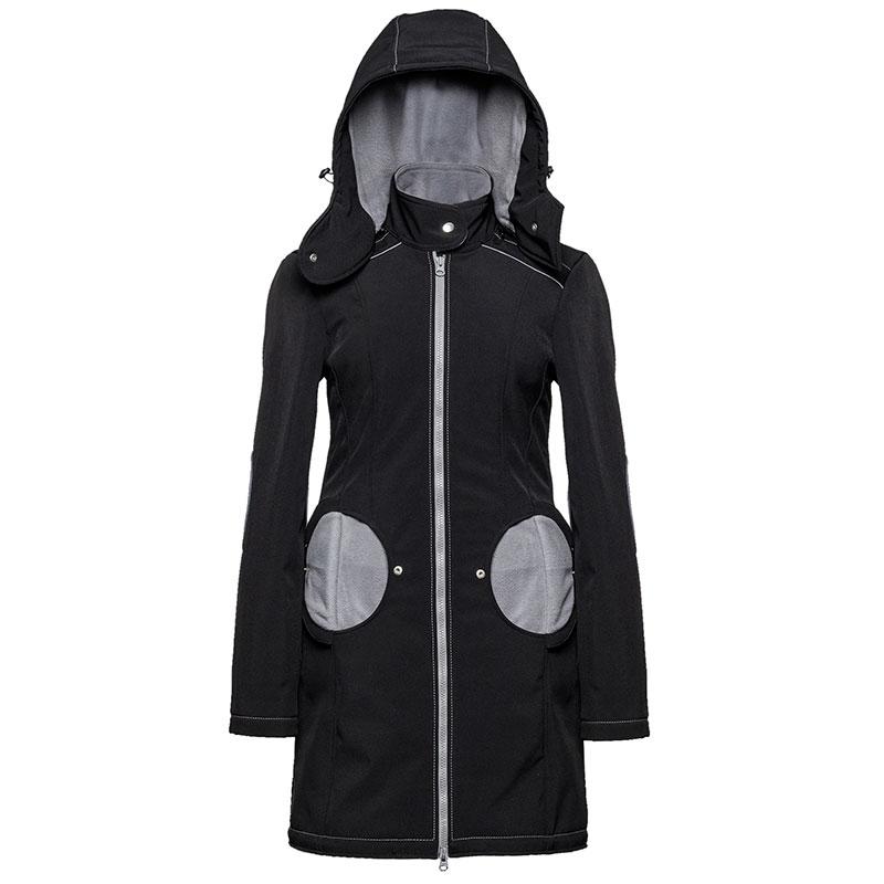 Abrigo de porteo 3 en 1 Liliputi - Black & Grey -