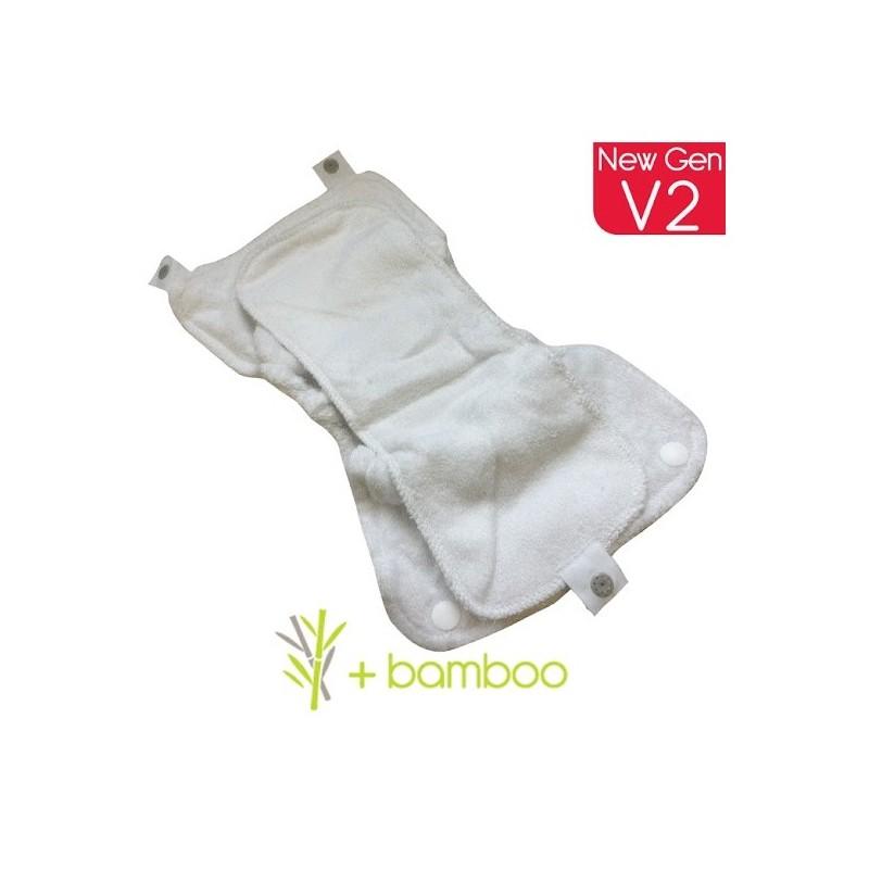 Absorbente para pañal de tela Pop-In - Bambú GenV2 -