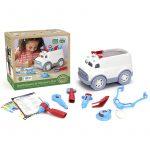 Ambulancia y set doctor de Green Toys