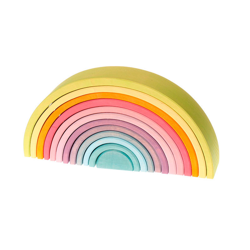 Arco Iris Waldorf Grande Colores Pastel
