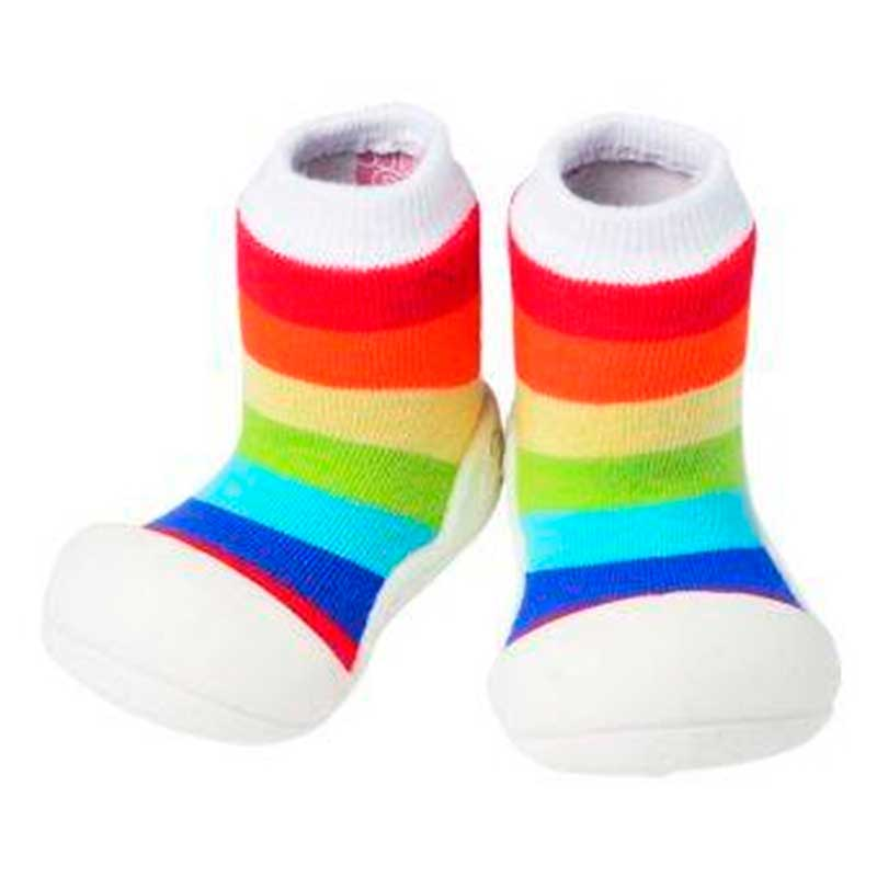 Zapatos Attipas Rainbow -blanco-