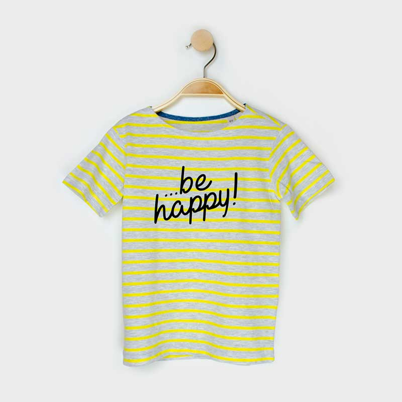 Camiseta '...be happy'