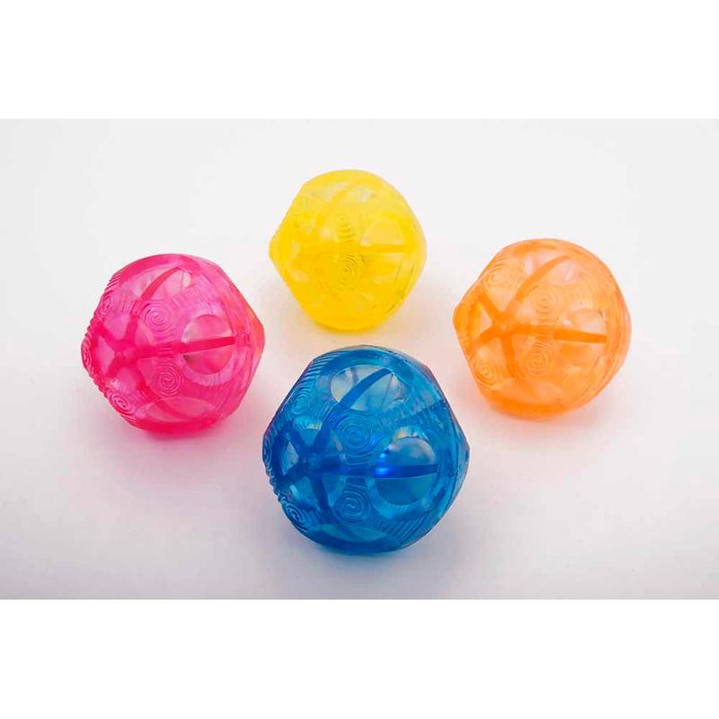 Set de 4 Bolas sensoriales con luz irregulares