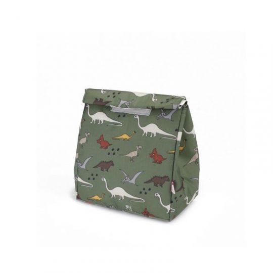 Bolsa de merienda - Dinos Verde -