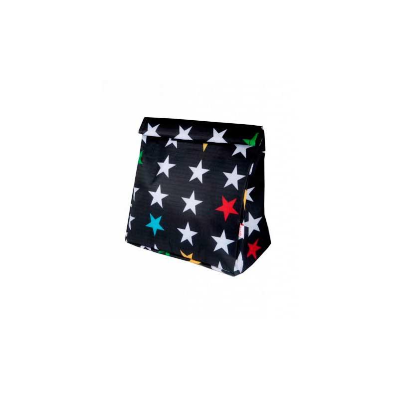 Bolsa de merienda Stars Black