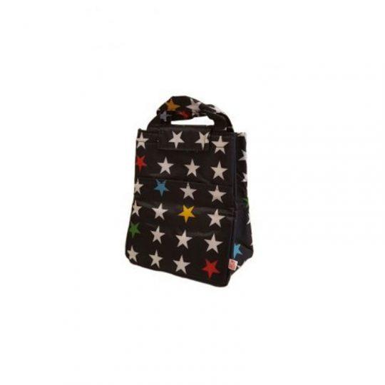 Bolsa merienda térmica Stars Black