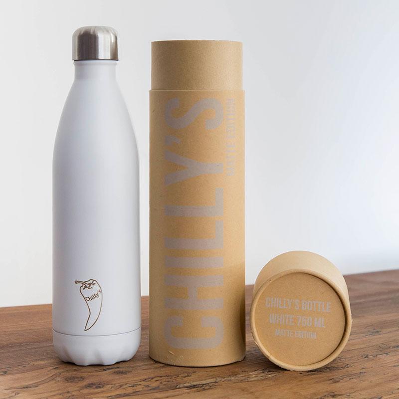 Botella Isotérmica Edición Matte - Blanco 750 ml -