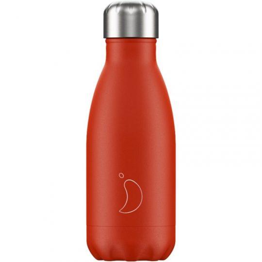 Botella Isotérmica Edición Neón - Rojo 260 ml