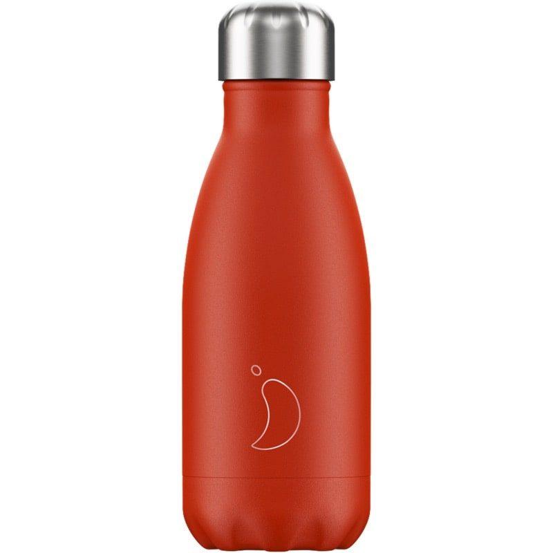 Botella Isotérmica Edición Neón - Rojo 260 ml - Monetes