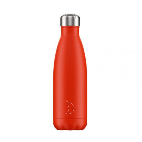 Botella Isotérmica Edición Neon - Rojo 500 ml -