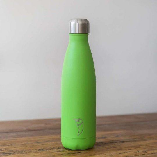 Botella Isotérmica Edición Neon - Verde 500 ml -